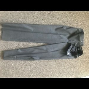 Ralph Lauren Matching Sets - Boys Ralph Lauren suit Grey pinstripe size 12